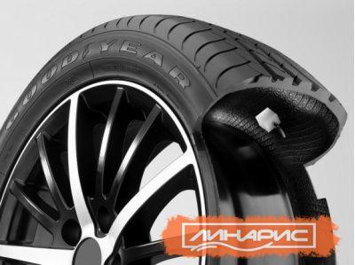 Самоподкачивающиеся шины от Goodyear снова получили награду