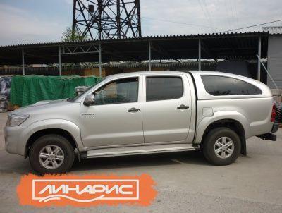 Кунг на Toyota Hilux — удобно, надежно и практично