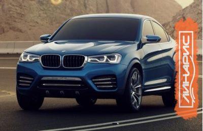 Новый автомобиль BMW X6 2015