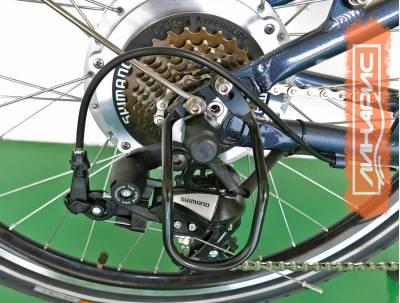 Техническая часть системы горного велосипеда