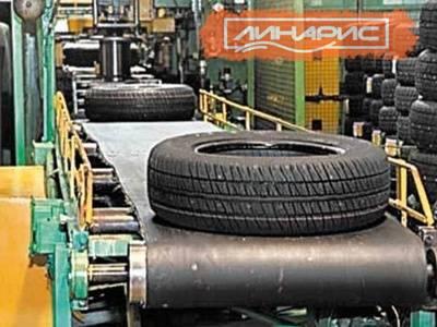 Производство автошин в России