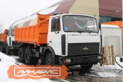 Технические характеристика самосвала МАЗ-5516